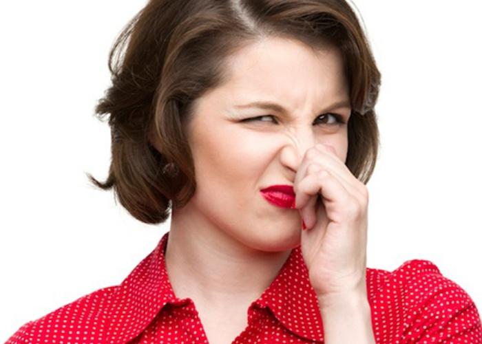 Alimentos causan mal olor