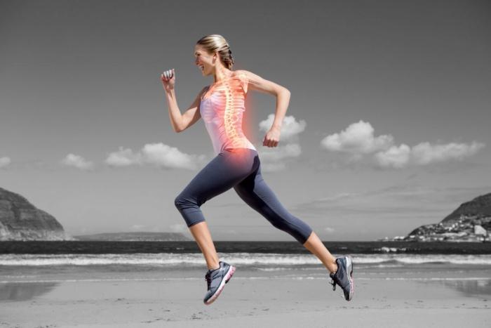 Correr postura