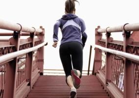 Entrenamiento escaleras
