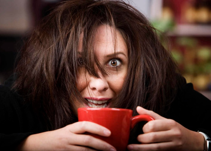 Peligros exceder cafeína