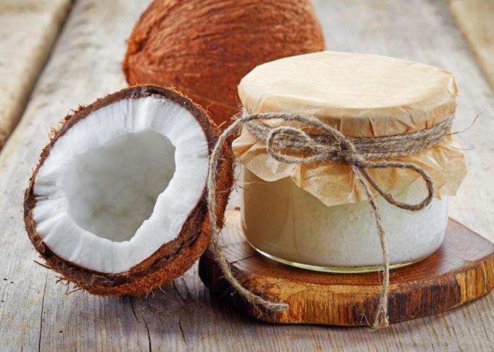 Coco y aceite de coco