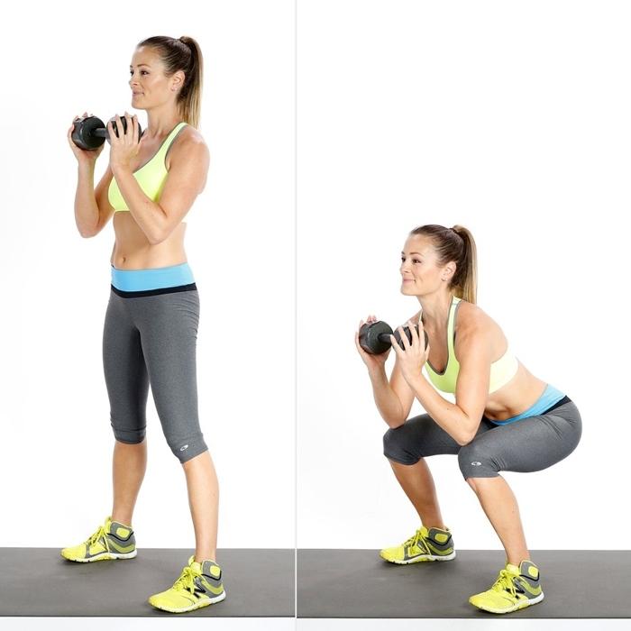 ejercicios definir piernas mujer