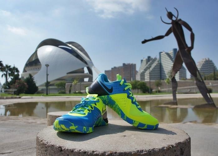 Nike Metcon 2 parque estatua