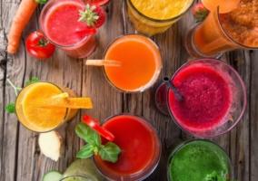 Zumo de frutas y verduras