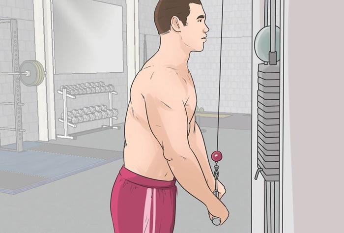 Tríceps en polea