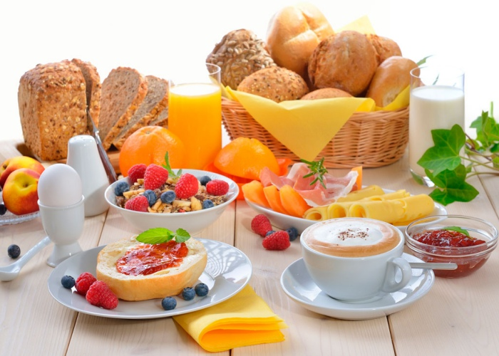 Alternativas desayuno