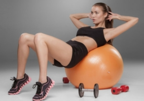 Ejercicios fitball brazos