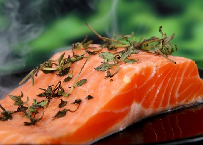 Carne de salmón