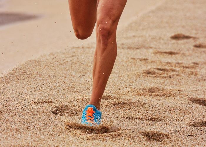 Correr en la arena