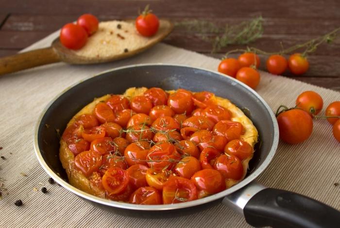 Tortilla de tomates