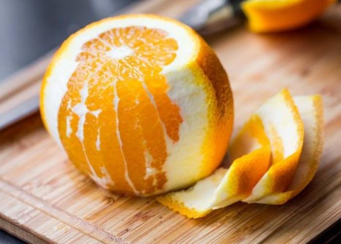 Beneficios cáscara naranja