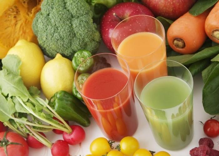 Dieta alcalina, zumos y vegetales