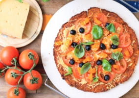 Pizza zanahoria
