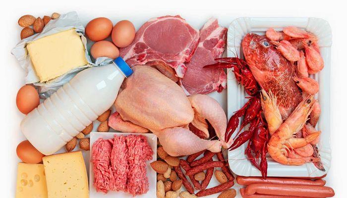 Alimentos con proteínas