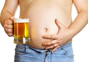 Cerveza engordar