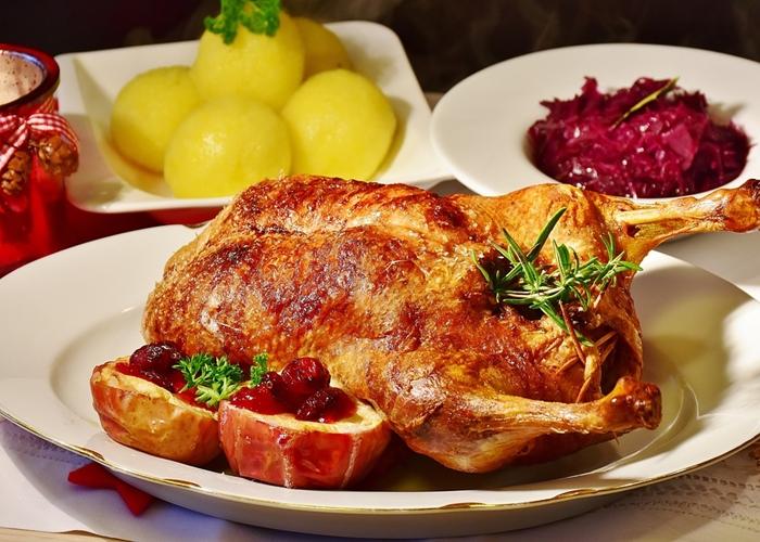 Pollo navideño