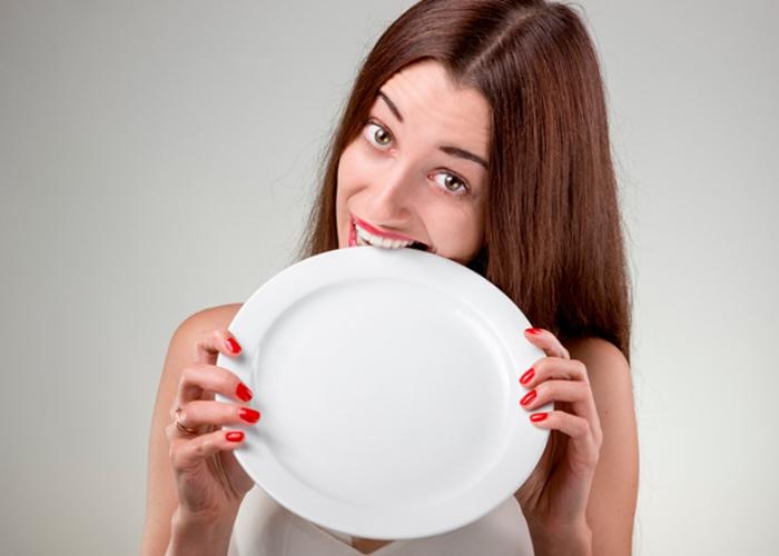 Persona con hambre