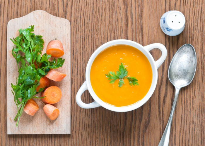 Crema zanahoria jengibre