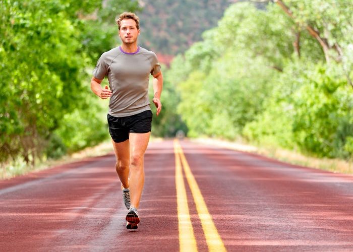 Atleta corriendo