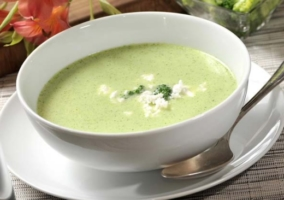 Crema coliflor brócoli