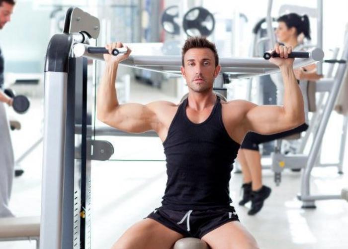 rutina de gimnasio para pecho y espalda