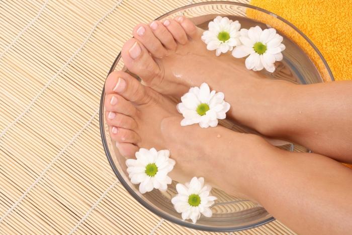 Baño pies