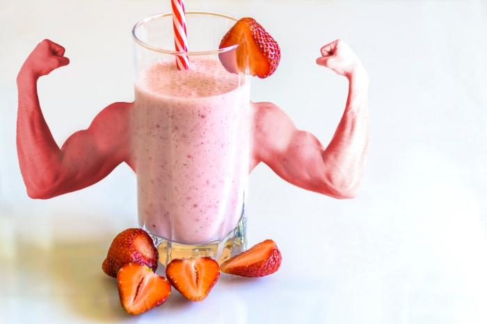 Batido aumentar masa muscular