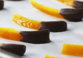 Cáscaras naranja