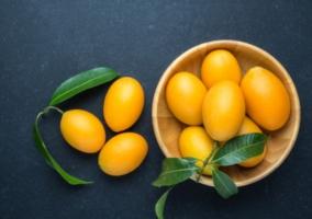 Hojas mango
