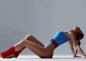 Mujer cuerpo tonificado