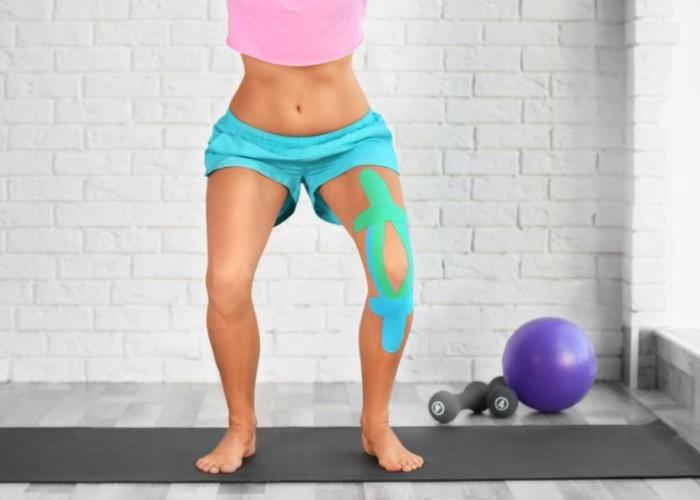 Deportista dolor rodilla