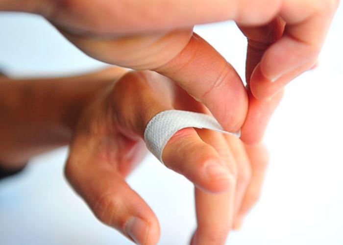 Curar herida