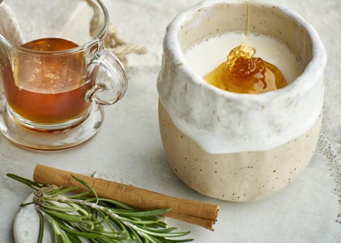 Queso con miel
