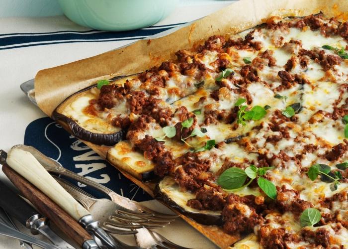 Pizza berenjena