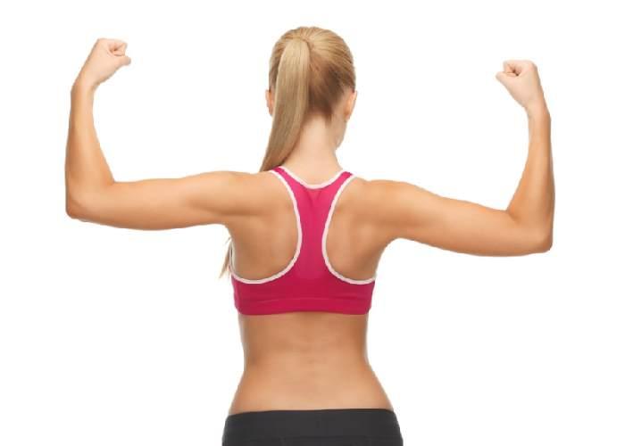 Mujer espalda estilizada