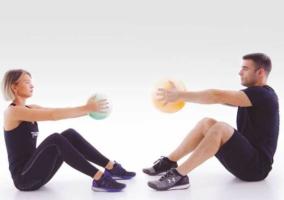 Entrenando con fluidball