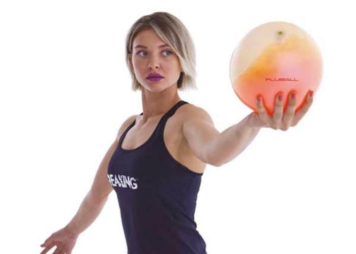 Mujer con Fluidball
