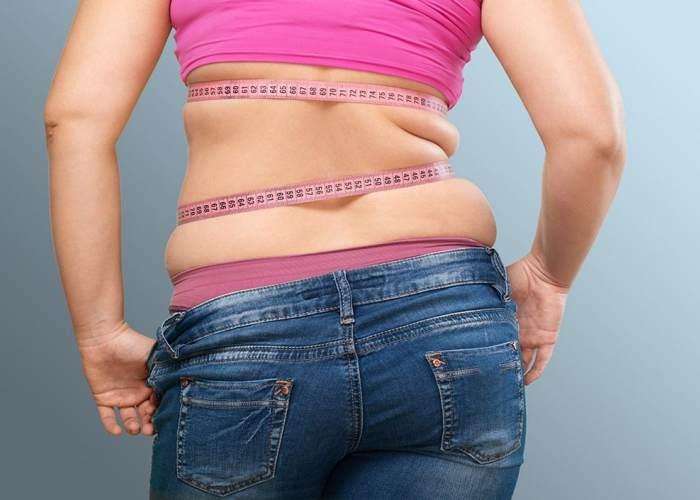 Persona con exceso de grasa