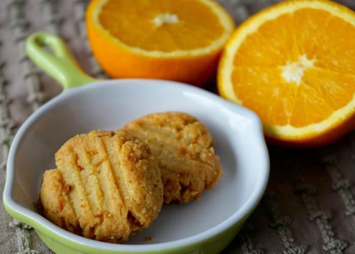Galletas naranja