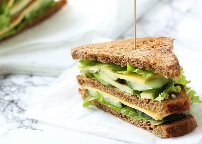 Sándwich vegetales