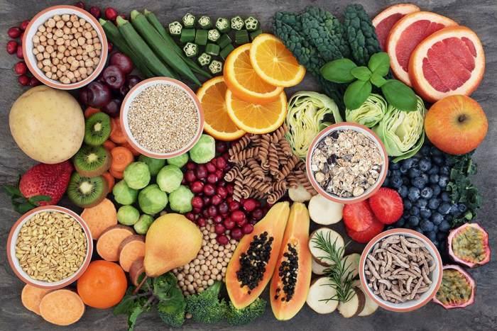 Alimentos ricos fibra