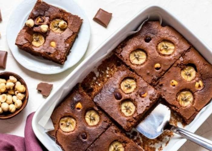 Brownie plátano