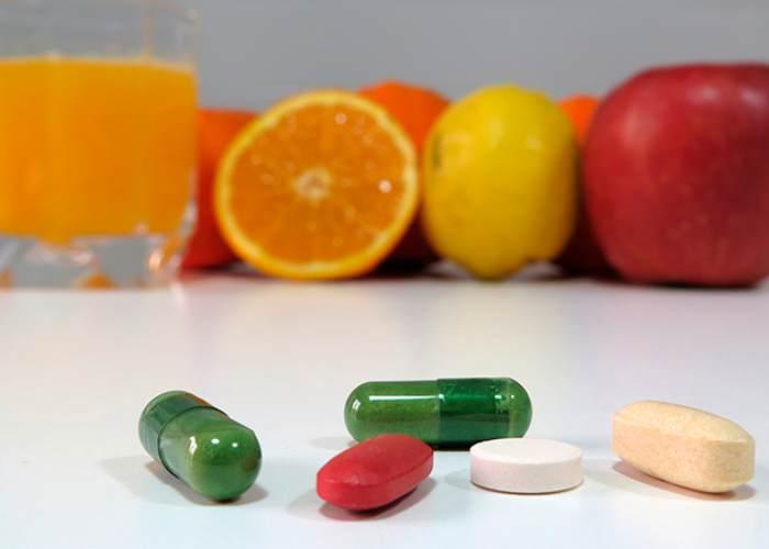 Frutas y suplementos