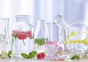 Hidrolatos o agua floral