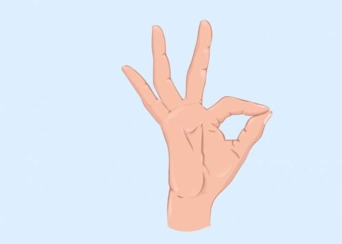 Mano haciendo señas
