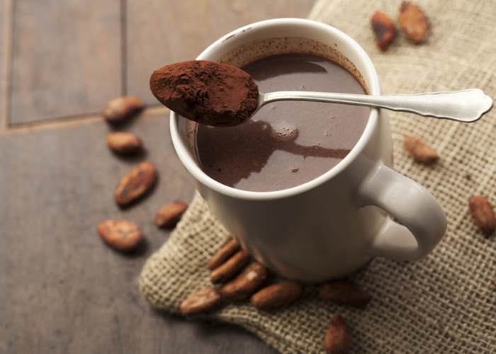 Taza con chocolate