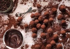 Trufas café chocolate