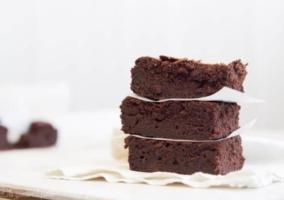 Brownies apilados