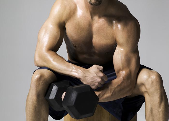 ejercicio de bíceps