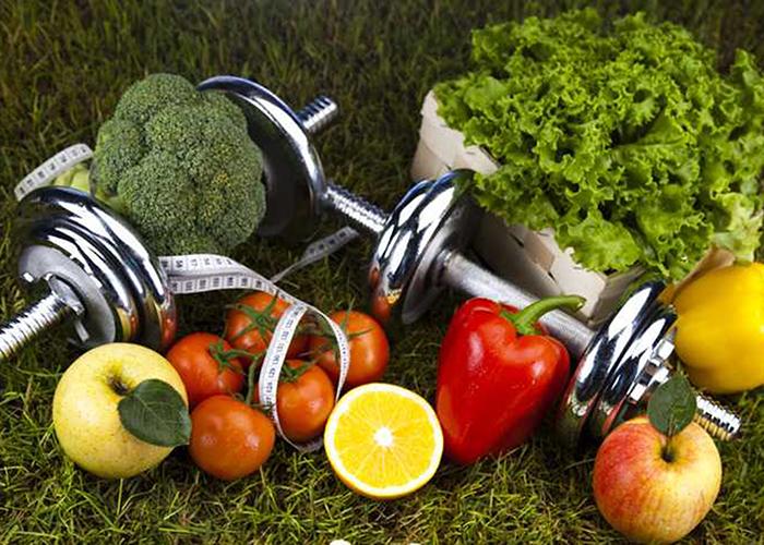 Fruta y ejercicio
